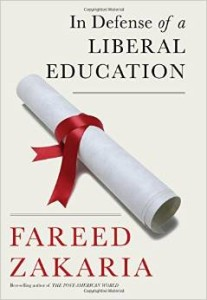 Fareed Zakaria Liberal Education